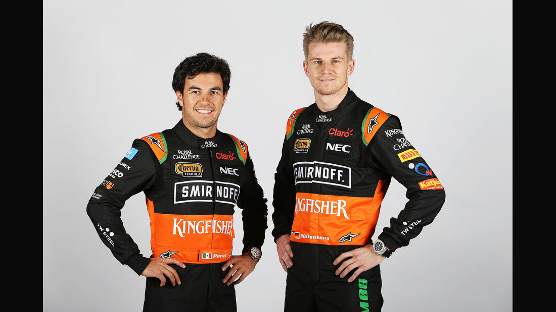 Hülkenberg & Perez - Force India - 2015