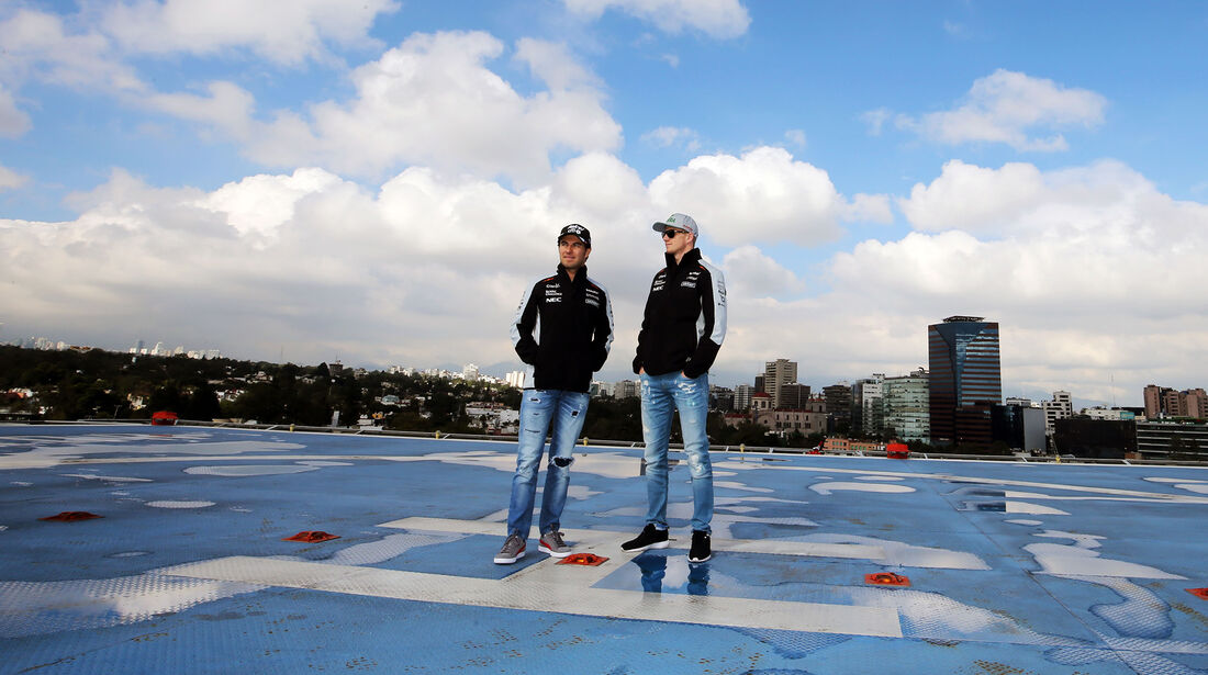 Hülkenberg & Perez - Force India - Formel 1 - GP Mexiko - 27. Oktober 2016