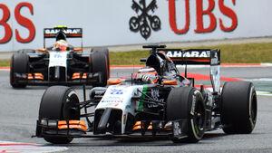 Hülkenberg & Perez - GP Spanien 2014