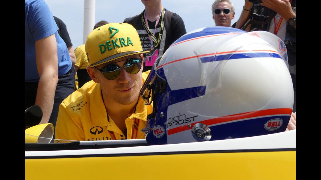 Hülkenberg & Prost - Formel 1 - GP Monaco - 26. Mai 2017