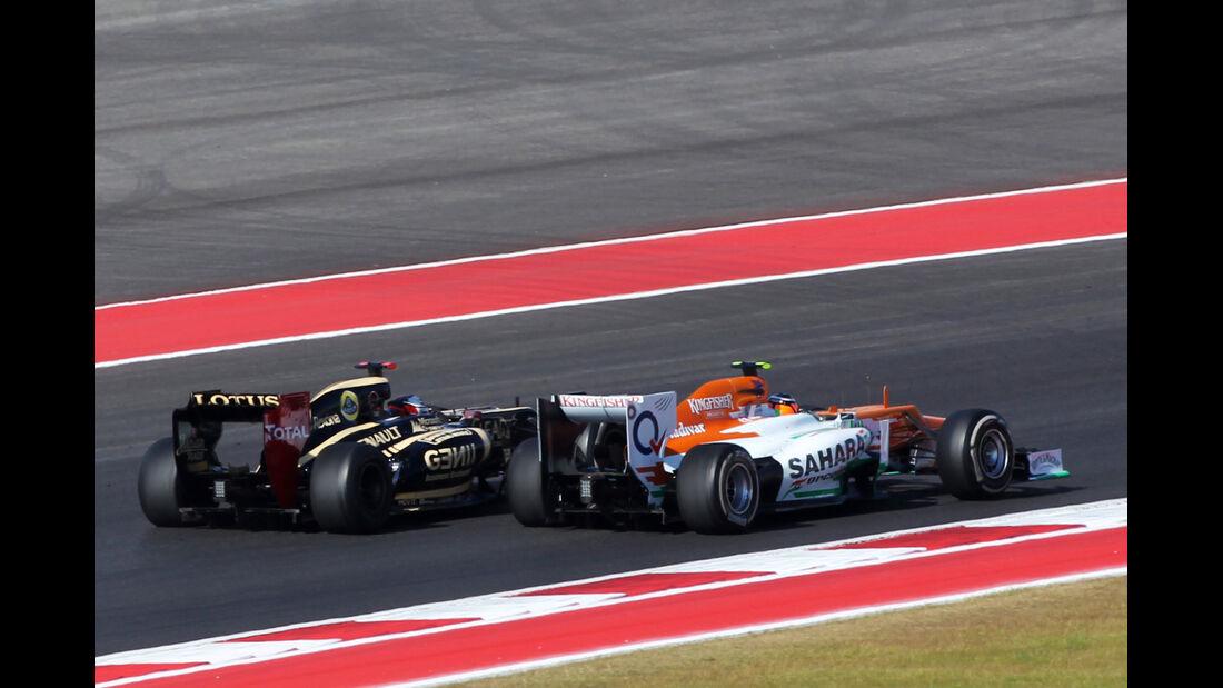 Hülkenberg Räikkönen GP USA 2012