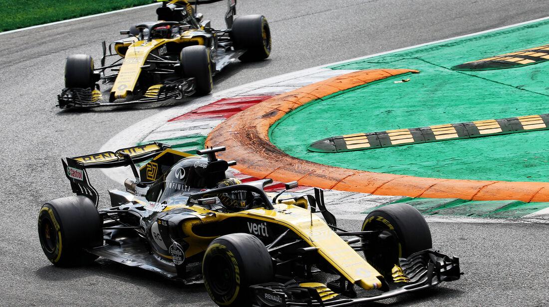 Hülkenberg & Sainz - GP Italien 2018