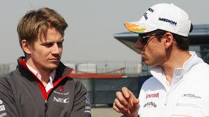 Hülkenberg & Sutil - Formel 1 - GP China - 11. April 2013