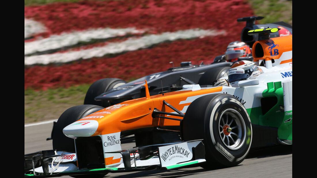 Hülkenberg & Sutil - Formel 1 - GP Deutschland 2013