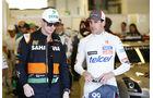 Hülkenberg & Sutil - GP Abu Dhabi 2014