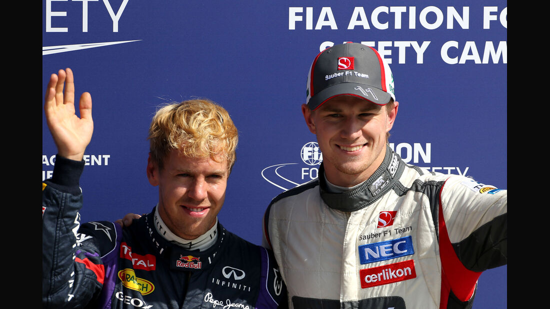 Hülkenberg & Vettel - GP Italien 2013