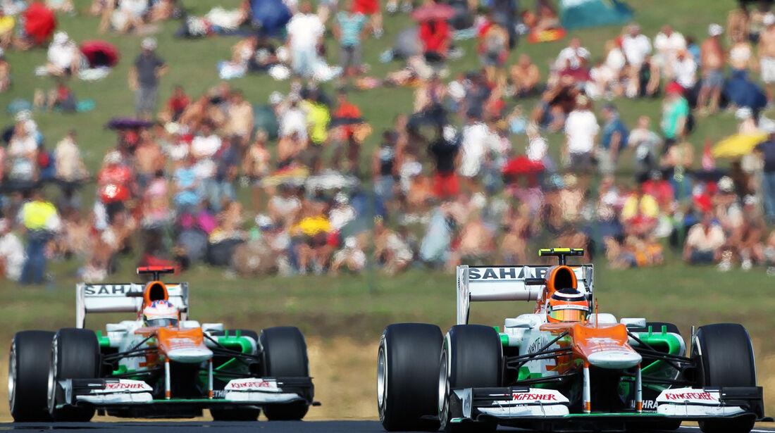 Hülkenberg vs. Di Resta GP Ungarn 2012