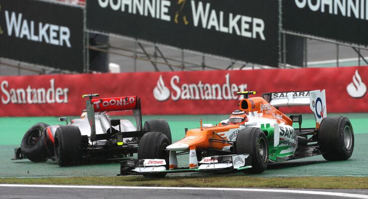 Hülkenberg vs. Hamilton GP Brasilien 2012