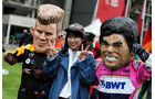Hülkenberg vs. Perez - Formel 1 - GP China - Shanghai - 14. April 2018