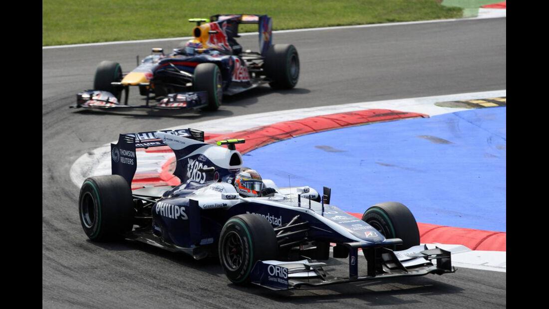 Hülkenberg vs. Webber