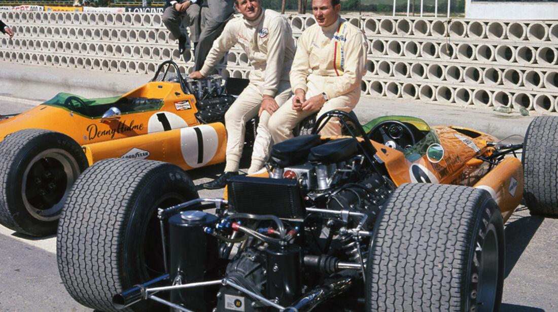 Hulme & Bruce McLaren 1968