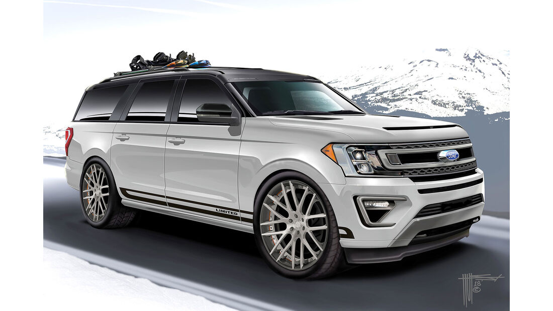 Hulst Customs Ford Expedition Max 4x4 Limited auf der SEMA Show 2018