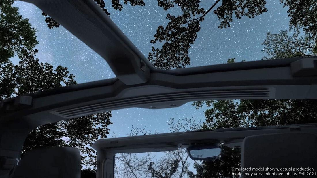 Hummer EV Open Air Dach