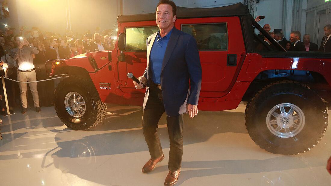 Hummer H1 Elektik Schwarzenegger