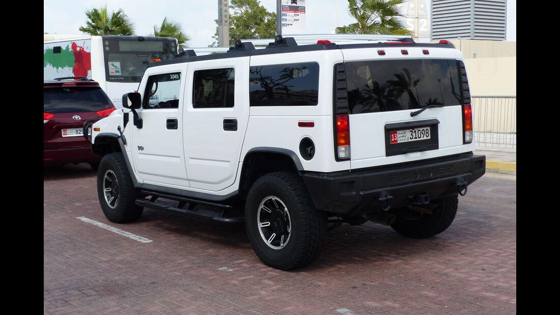 Hummer H2 - GP Abu Dhabi - Carspotting 2015