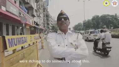 Hup-Bestrafungsampel in Indien