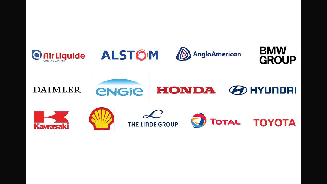 Hydrogen Council Wasserstoffallianz Logo