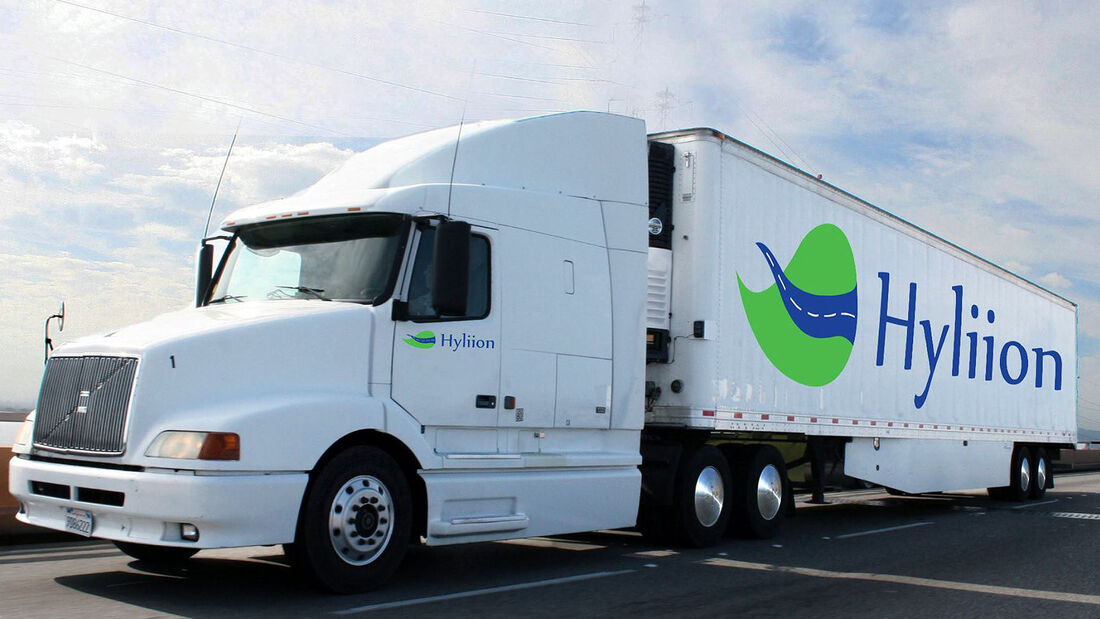 Hyliion Hybrid Lkw Trailer Nachrüstung Elektroantrieb