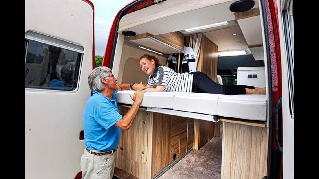 Hymer Car Grand Canyon, Caravan Salon 2016