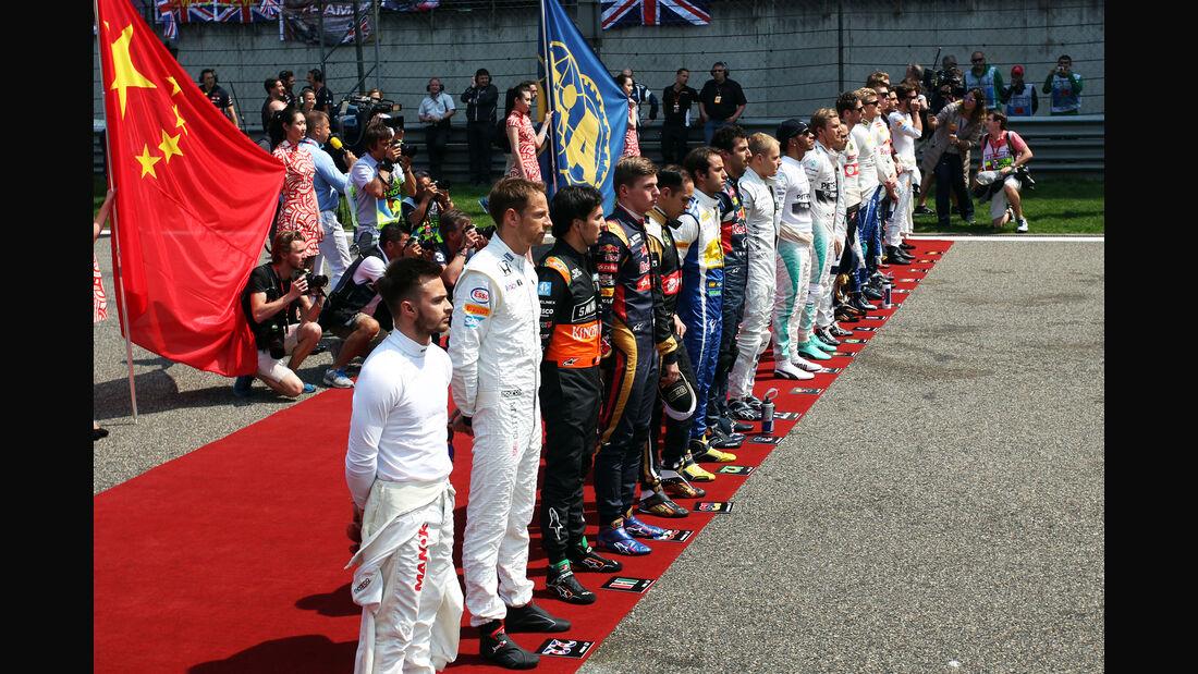 Hymne - Formel 1 - GP China 2015