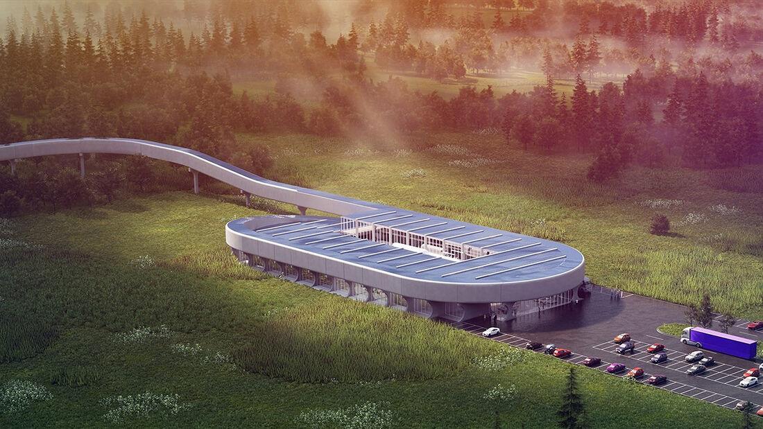 Hyperloop Certification Center in West Virginia