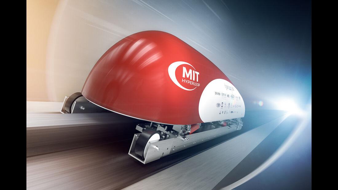 Hyperloop, MIT