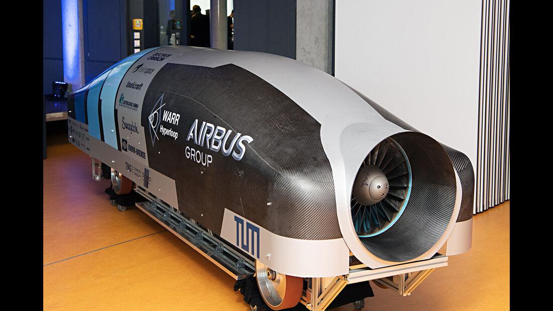 Hyperloop, TU München, WARR