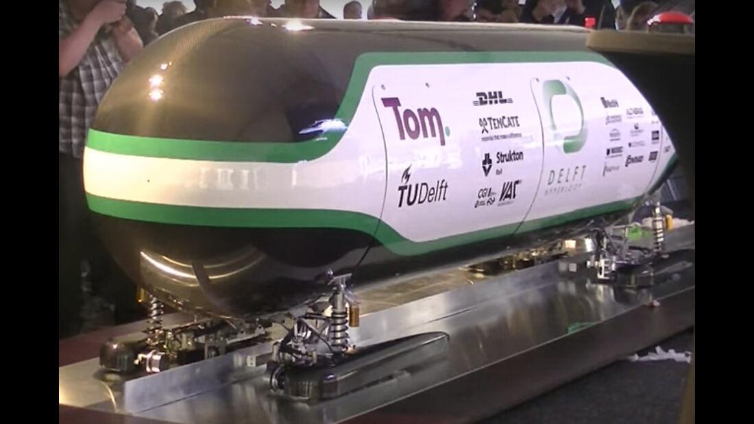 Hyperloop, Uni Delft
