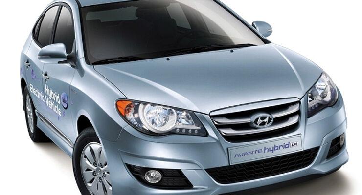 Hyundai Avante LPI Hybrid