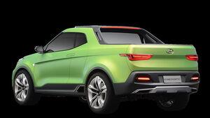Hyundai Creta STC (Creta pick up) Sao Paulo Autoshow 11/2016
