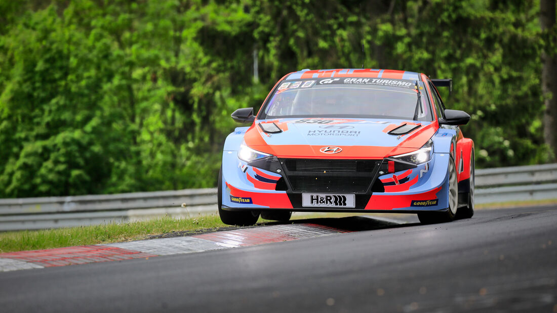 Hyundai Elantra N - Hyundai Motorsport N - Startnummer #830 - Klasse: TCR - 24h-Rennen - Nürburgring - Nordschleife - 03. - 06. Juni 2021