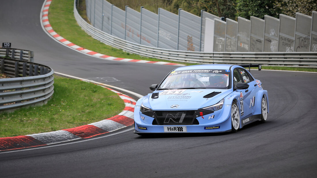 Hyundai Elantra N TCR (CN7) - Startnummer #831 - Hyundai Motorsport N - TCR Pro - NLS 2021 - Langstreckenmeisterschaft - Nürburgring - Nordschleife