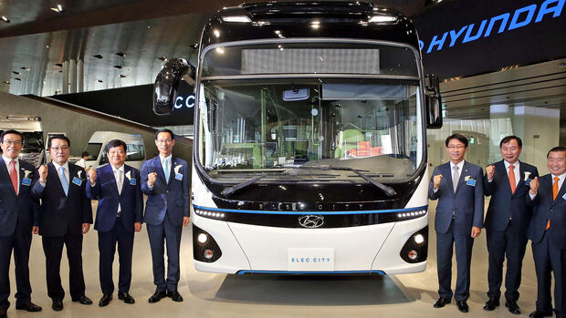 Hyundai Elec City electric bus