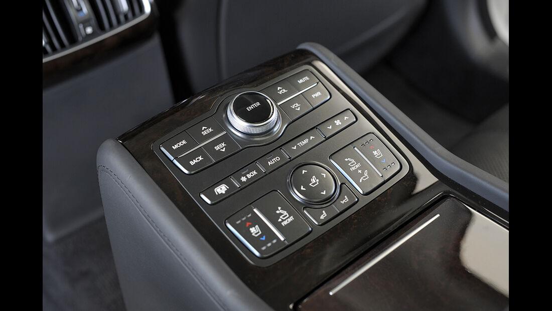 Hyundai Equus 2013, Innenraum