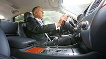 Hyundai Equus, Cockpit, Innenraum