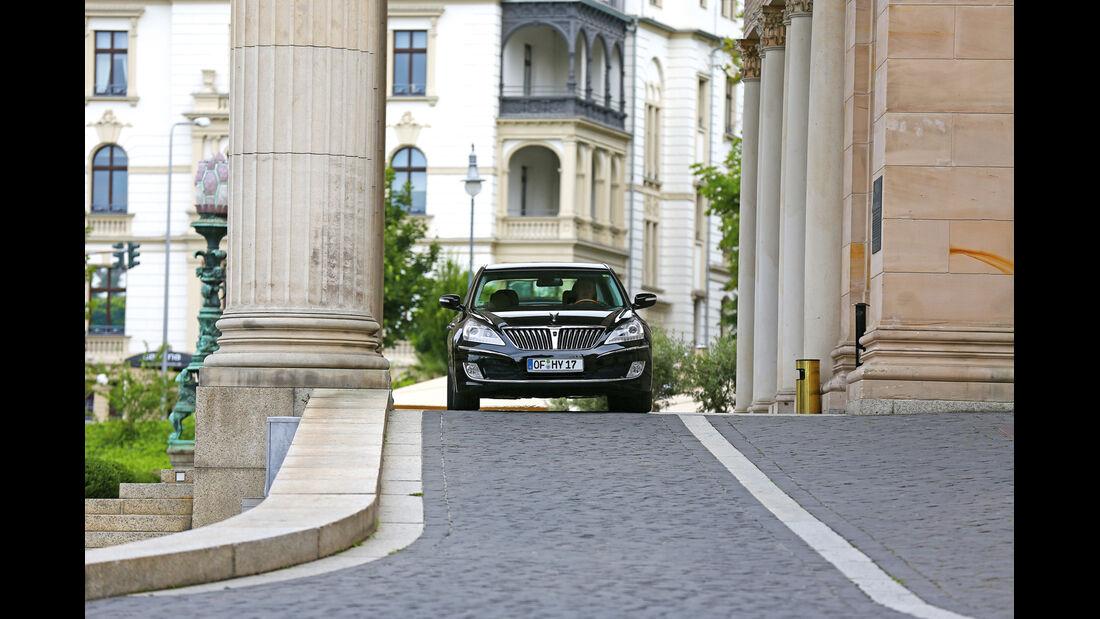 Hyundai Equus, Frontansicht
