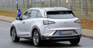 Hyundai FCEV Brennstoffzellen-SUV Erlkönig