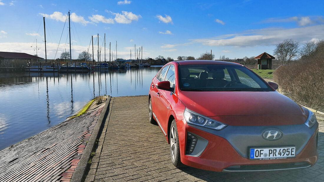 Hyundai Future Leser Test Drive Ioniq Elektro
