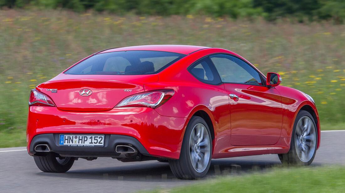 Hyundai Genesis Coupé 2.0 T, Heckansicht
