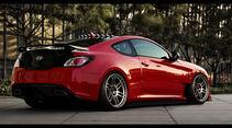Hyundai Genesis Coupé - Durci Photoshop Studie