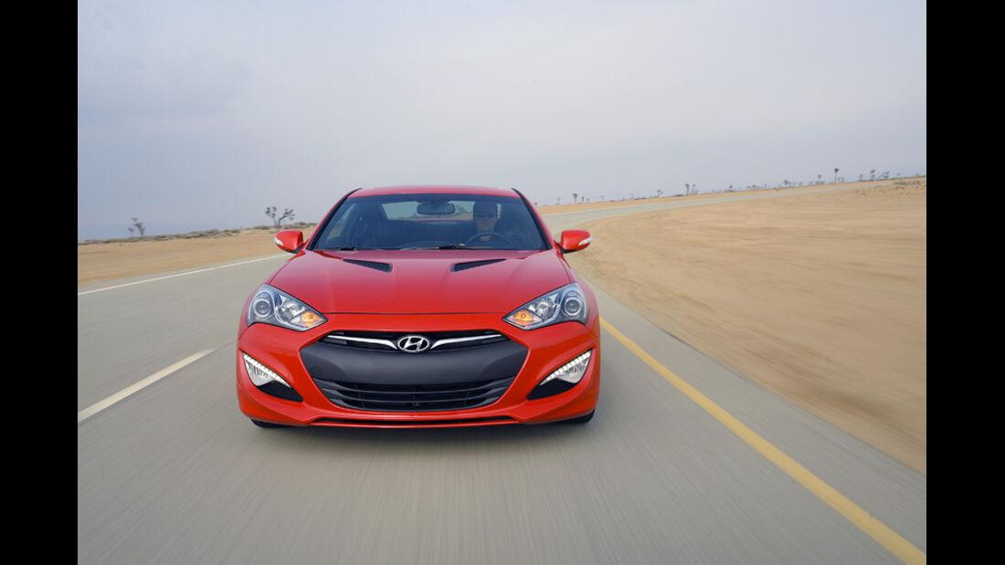 Hyundai Genesis Coupé GT, Frontansicht
