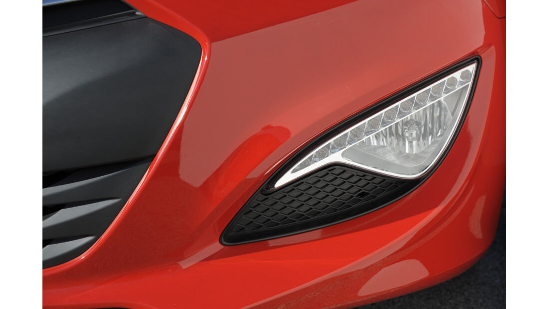 Hyundai Genesis Coupé GT, Licht, Detail