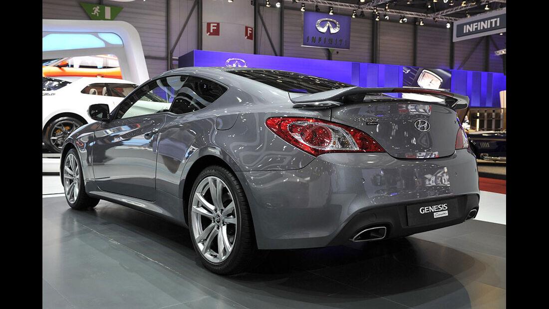 Hyundai Genesis Coupé, Messe, Genf, 2011