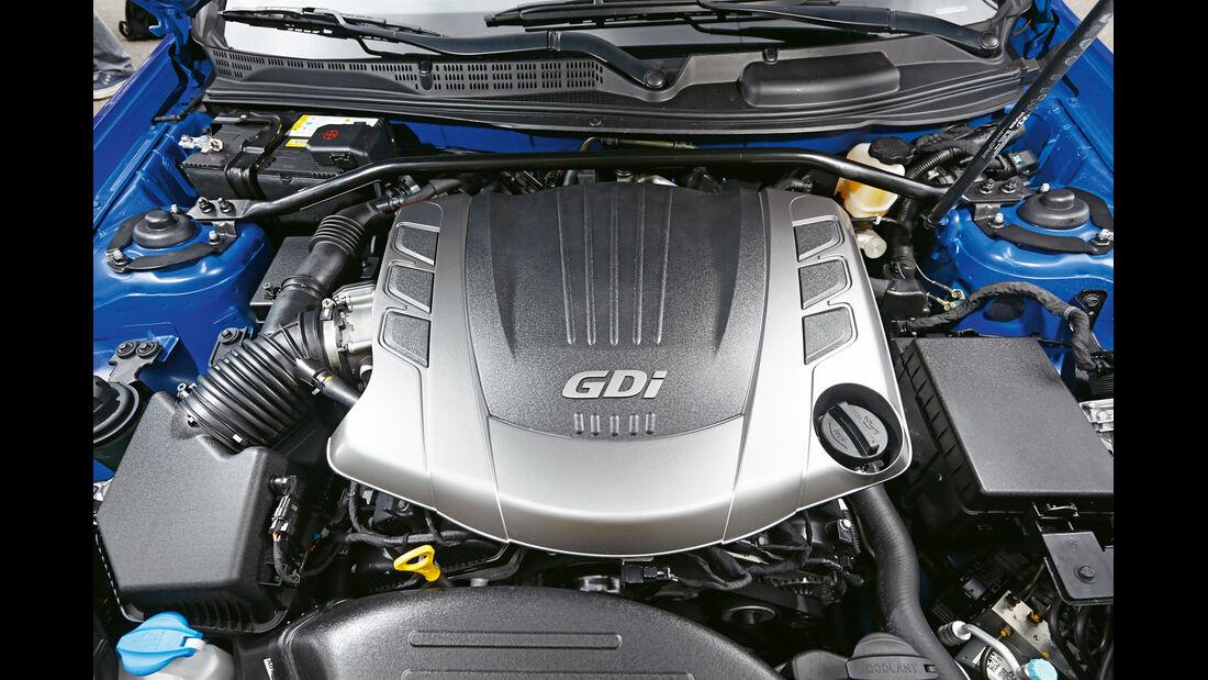 Hyundai Genesis Coupé, Motor