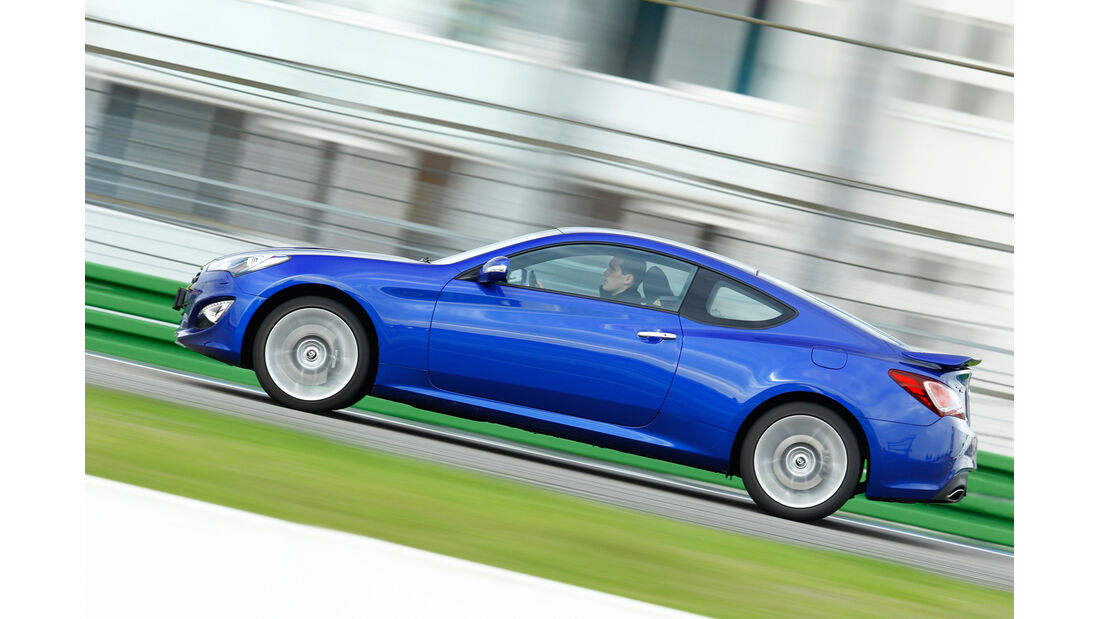 Hyundai Genesis Coupé, Seitenansicht