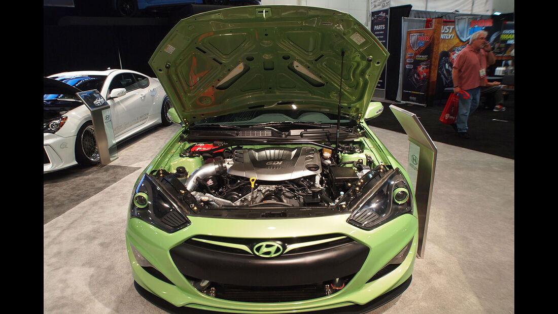 Hyundai Genesis Coupé von Tjin Edition - SEMA 2015 - Las Vegas