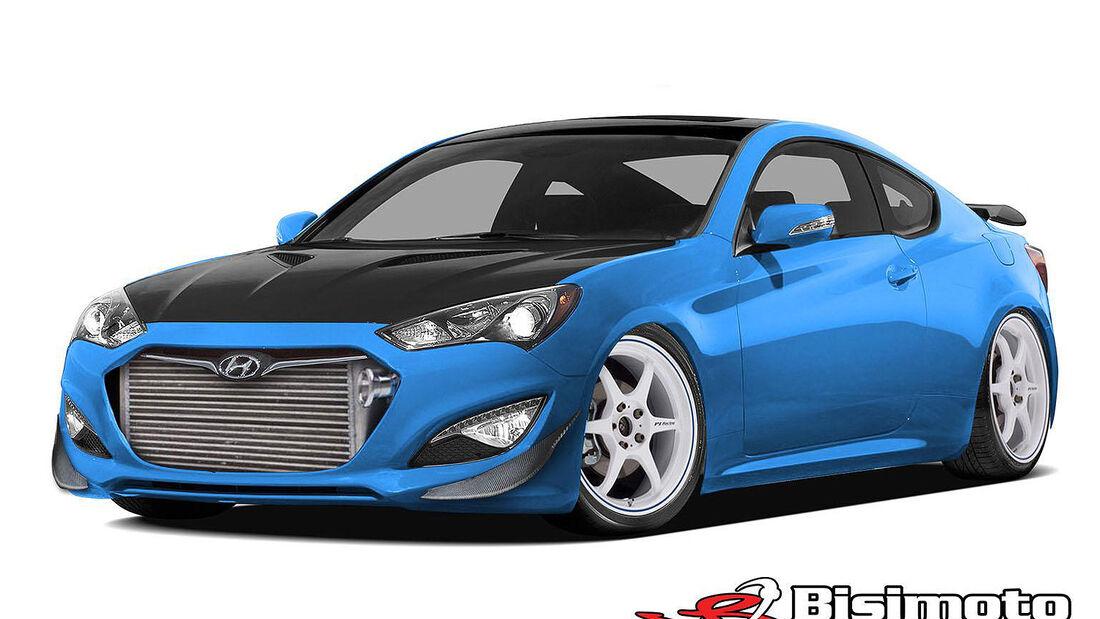 Hyundai Genesis Coupe, Tuning, SEMA 2013