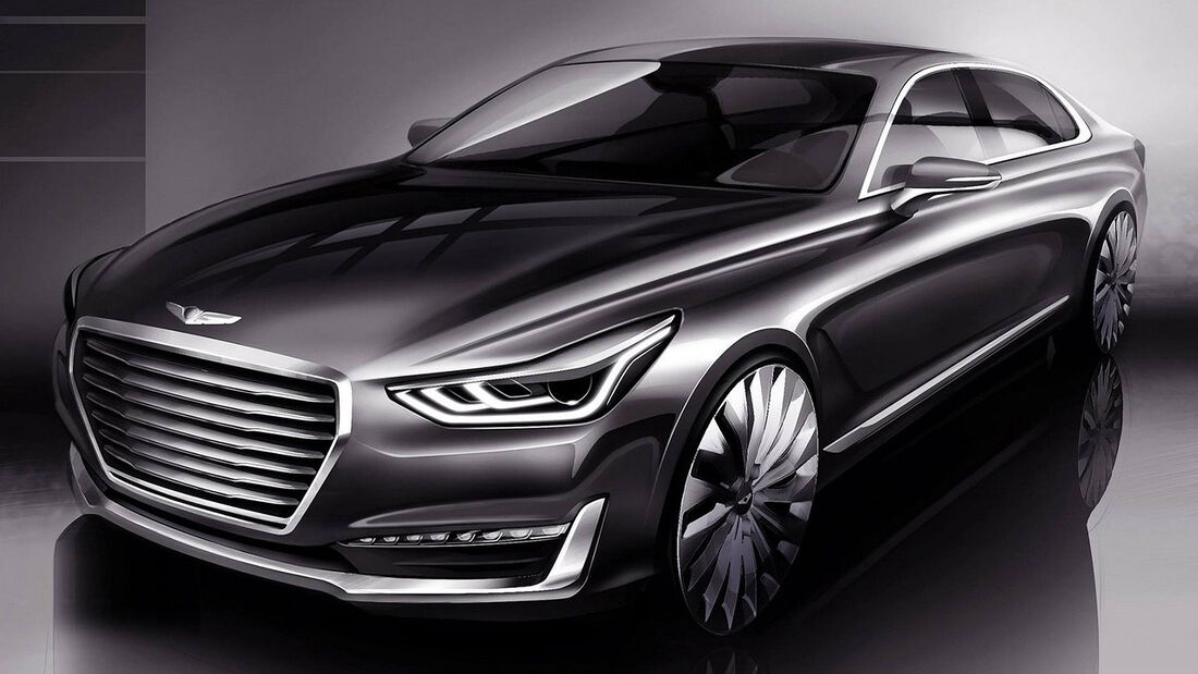 Hyundai Genesis G90 Teaser