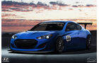 Hyundai Genesis GT3 - Durci Photoshop Studie