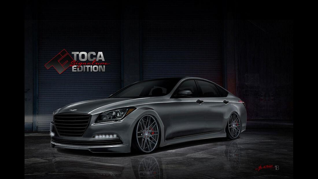 Hyundai Genesis - Toca Marketing Group - Sema-Show 2014